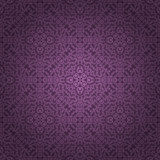 Abstract seamless pattern. Abstract seamless floral pattern. Vector illustration Stock Photos