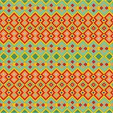 Abstract seamless pattern. Colorful hand drawn seamless retro pattern Stock Illustration