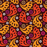 Abstract seamless pattern. In retro style Stock Images