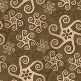 Abstract Seamless Pattern. You can use this repeating pattern to fill your own custom shapes and backgrounds Stock Photography