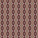 Abstract seamless pattern. Abstract wn and red seamless pattern with vertical lines Royalty Free Stock Images