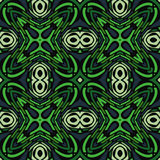 Abstract Seamless Pattern. Jungle Evocative Green Seamless Pattern Illustration Stock Image