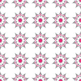 Abstract seamless pattern. An illustration of abstract distorted star seamless pattern Royalty Free Stock Images