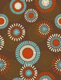 Abstract seamless pattern. Seamless wallpaper with circular shapes Royalty Free Stock Photography