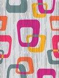 Abstract seamless pattern. Retro styled Stock Image