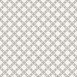Abstract seamless pattern. Modern stylish texture. Regularly repeating rhombuses made of geometric shapes. Linear style. Vector background Stock Photography