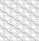 Abstract seamless pattern with angular lines. Structure of geometric shapes. Royalty Free Stock Photo
