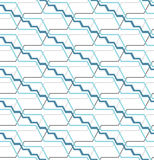 Abstract seamless pattern with angular lines. Structure of geometric shapes. Royalty Free Stock Images