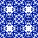 Abstract seamless pattern in arabic style, vector background Royalty Free Stock Images