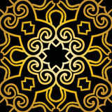 Abstract seamless pattern in art deco style Royalty Free Stock Photos