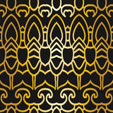 Abstract seamless pattern in art deco style Stock Image