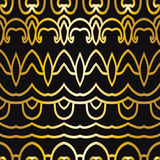 Abstract seamless pattern in art deco style Stock Images