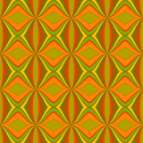 Abstract seamless pattern in autumn colors. Abstract seamless pattern with rhombus and wavy stripes in autumn colors. This pattern can be used in the design of Stock Illustration