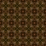Abstract seamless pattern background. Brown flower Royalty Free Stock Photography