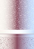 Abstract Seamless pattern or background with bubbl Stock Photo