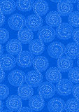 Abstract seamless pattern background. Dashed line spiral swirls Stock Photography