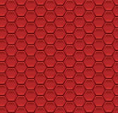 Abstract seamless pattern background with hexagon elements vector illustration Stock Images
