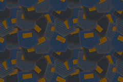 Abstract seamless pattern background. Jeans pocket Royalty Free Stock Photos