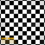 Abstract Seamless Pattern Background. Racing Flag Like A Chessboard Pattern. Vector Illustration Stock Photo