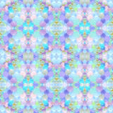 Abstract seamless pattern. Background with small transparent colored balls arranged chaotically Stock Photos