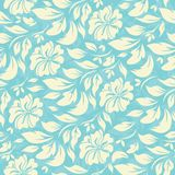 Abstract seamless pattern with beautiful floral background Royalty Free Stock Photos