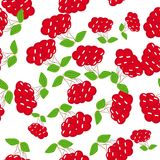 Abstract seamless pattern with berries Stock Photos