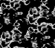 Abstract seamless pattern on a black background Stock Photography