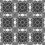 Abstract seamless pattern in black&white color for endless backg Royalty Free Stock Image