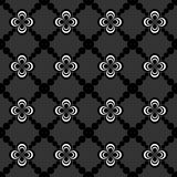 Abstract seamless pattern of black and white color for wallpapers and background. Royalty Free Stock Photo