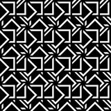 Abstract seamless pattern black white mosaic. Abstract seamless pattern. Geometric shape triangle mosaic ornament. Fashion graphic design background. Modern Vector Illustration