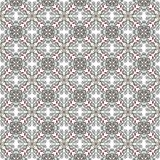 Abstract seamless pattern in black and white Royalty Free Stock Photography