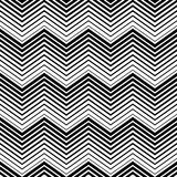 Abstract seamless pattern black and white triangle with line style. Seamless lines  Royalty Free Stock Photos
