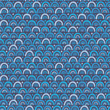 Abstract seamless pattern in blue Royalty Free Stock Photography
