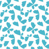 Abstract seamless pattern, blue color Royalty Free Stock Photo