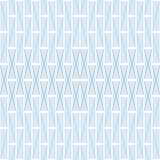 Abstract seamless pattern of blue rectangular tiles Stock Images