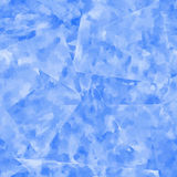 Abstract seamless pattern. Blue watercolor background. Royalty Free Stock Photography