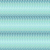 Abstract seamless pattern with blue waves Royalty Free Stock Photography