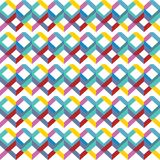 Abstract seamless pattern bright colored Geometric background rainbow color. Vector illustration stock illustration