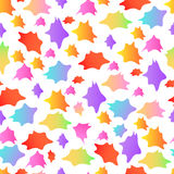 Abstract seamless pattern. Abstract bright  colorful  motley blot  seamless рattern Stock Photos
