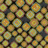 Abstract seamless pattern in bright colors. Stock Image