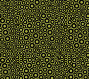 Abstract seamless pattern with cells. Royalty Free Stock Images