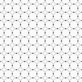 Abstract seamless pattern. Circles connected with dots. Stock Photo