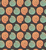 Abstract seamless pattern with circles  Decorative geometric background for wallpapers, textile, packaging Stock Photo