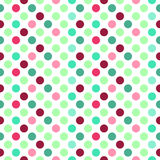 Abstract seamless pattern with circles. Royalty Free Stock Photography