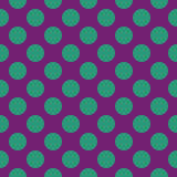 Abstract seamless pattern with circles. Stock Images