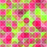 Abstract seamless pattern with circles. Royalty Free Stock Images