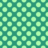 Abstract seamless pattern with circles. Stock Photography