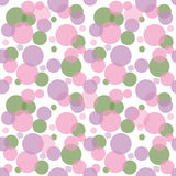 Abstract seamless pattern with circles Royalty Free Stock Photography