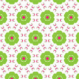 Abstract seamless pattern of a circular form. Of green color.Background for broad application with a possibility of change.Vector illustration Royalty Free Stock Photos