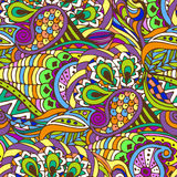 Abstract seamless pattern. Color, doodle Stock Photo